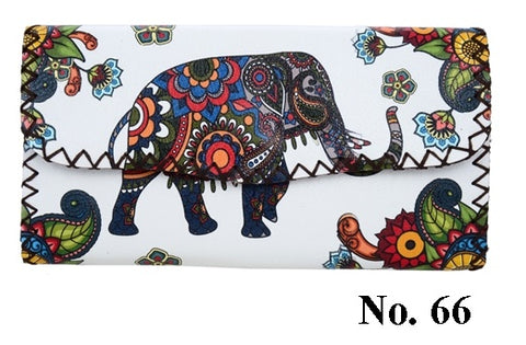 Graphic Wallet - Elephant