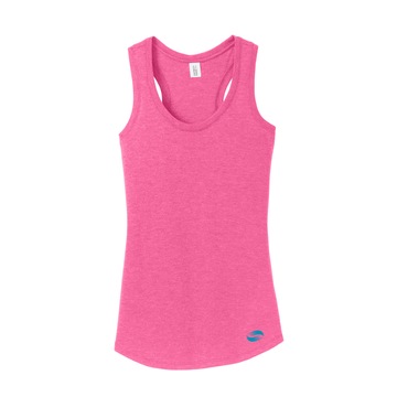 District Women's Perfect Tri Racerback Tank (DM138L)