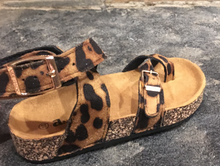 Load image into Gallery viewer, Cheetah Feet in youth sizes