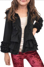 Load image into Gallery viewer, Girls ruffle hoodie