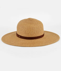 medium natural straw hat