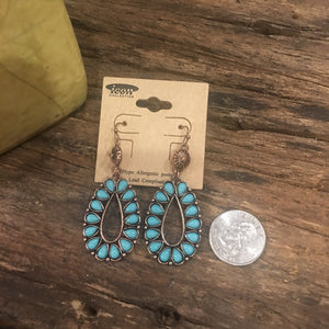 Blossom boho earrings