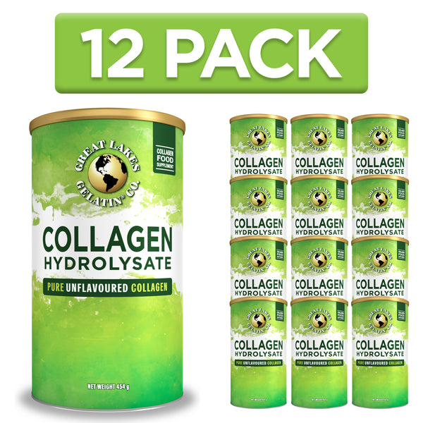 Collagen Hydrolysate  454g - 12 Pack