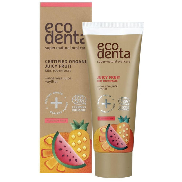 Dentifrice fruité ECODENTA pour enfants 75 ml - Pharma Bio Univers Paris