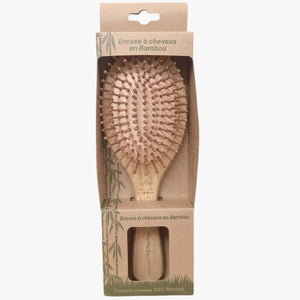 brosse cheveux bambou