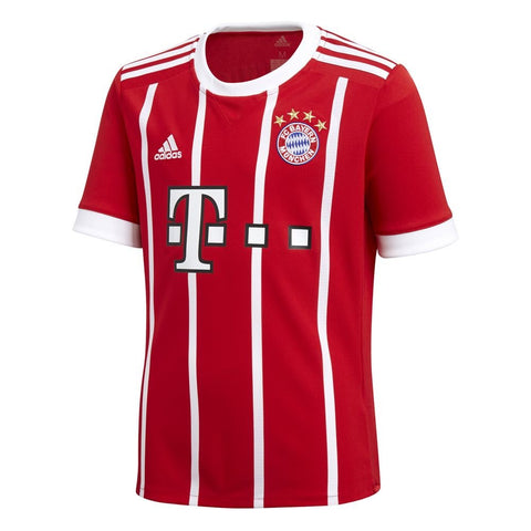 adidas Bayern Munich Home Mens Soccer Jersey - Red - XL
