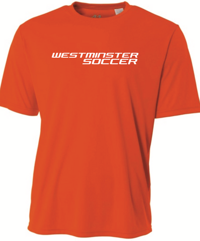 Westminster Soccer A4 SS Tee - Orange - Fan Gear