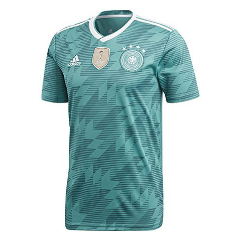 adidas Germany Mens 2018 Away Jersey - Green - XL