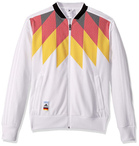 adidas Germany Soccer Track Top - White - L