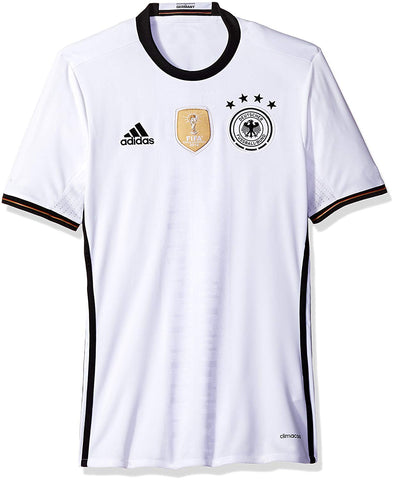 adidas Germany Euro 2016 Home Soccer Jersey - White - S
