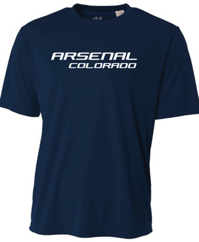 Arsenal Colorado A4 SS Tee - Navy - Fan Gear