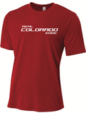 Real Edge A4 SS Tee - Red - Fan Gear