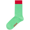 Block Mint Socks
