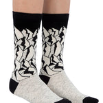 Black & White Bundle (5 Socks Pack, Small Size)
