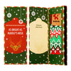 Season's Greetings Socks Card / Flake