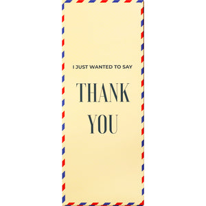 Thank You Socks Card / Winter