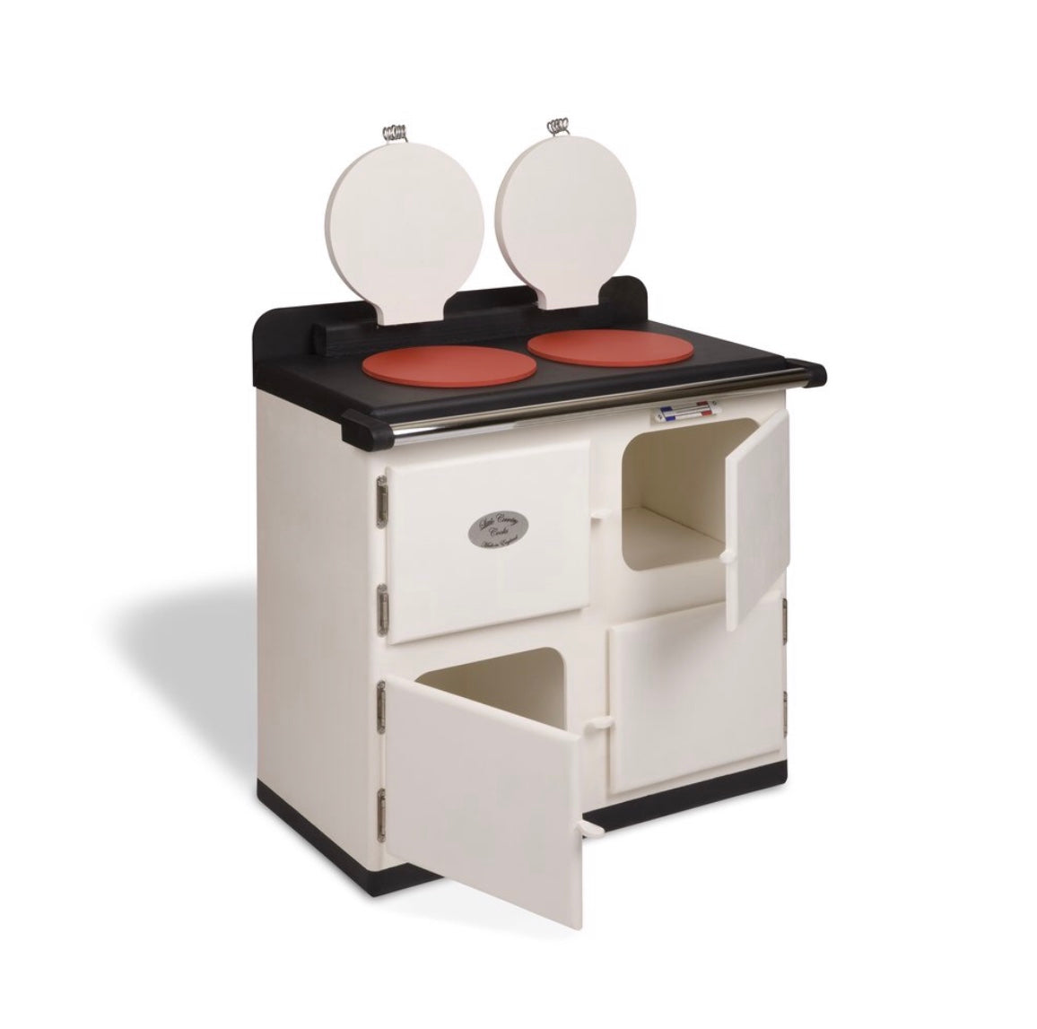 Children's Toy Cooker In Cream