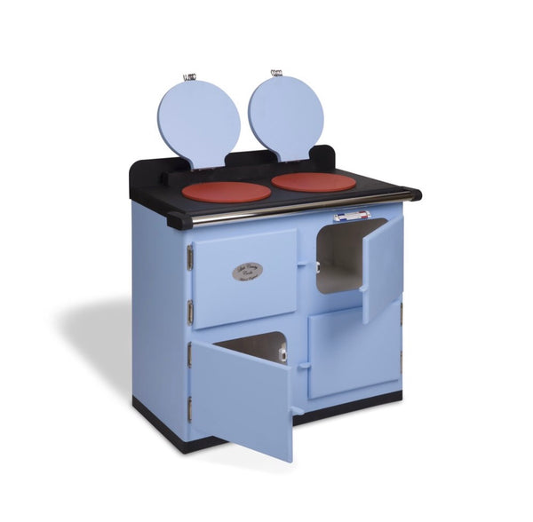 Children's  Toy  Cooker  In Light Blue  - take 20% off at checkout for a limited time! Use code: CHRISTMAS2019