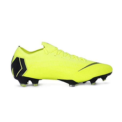 more photos 71f84 0a9f4 NIKE Men s Vapor 12 Elite (FG) Firm-Ground Football Boot Volt Black (6 –  Killer Cleats