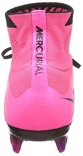 3b38f7bba NIKE Mercurial Superfly Leather FG 747219-006 Black Pink Men s Soccer –  Killer Cleats