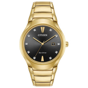 Paradigm Diamond Dial Gold Tone