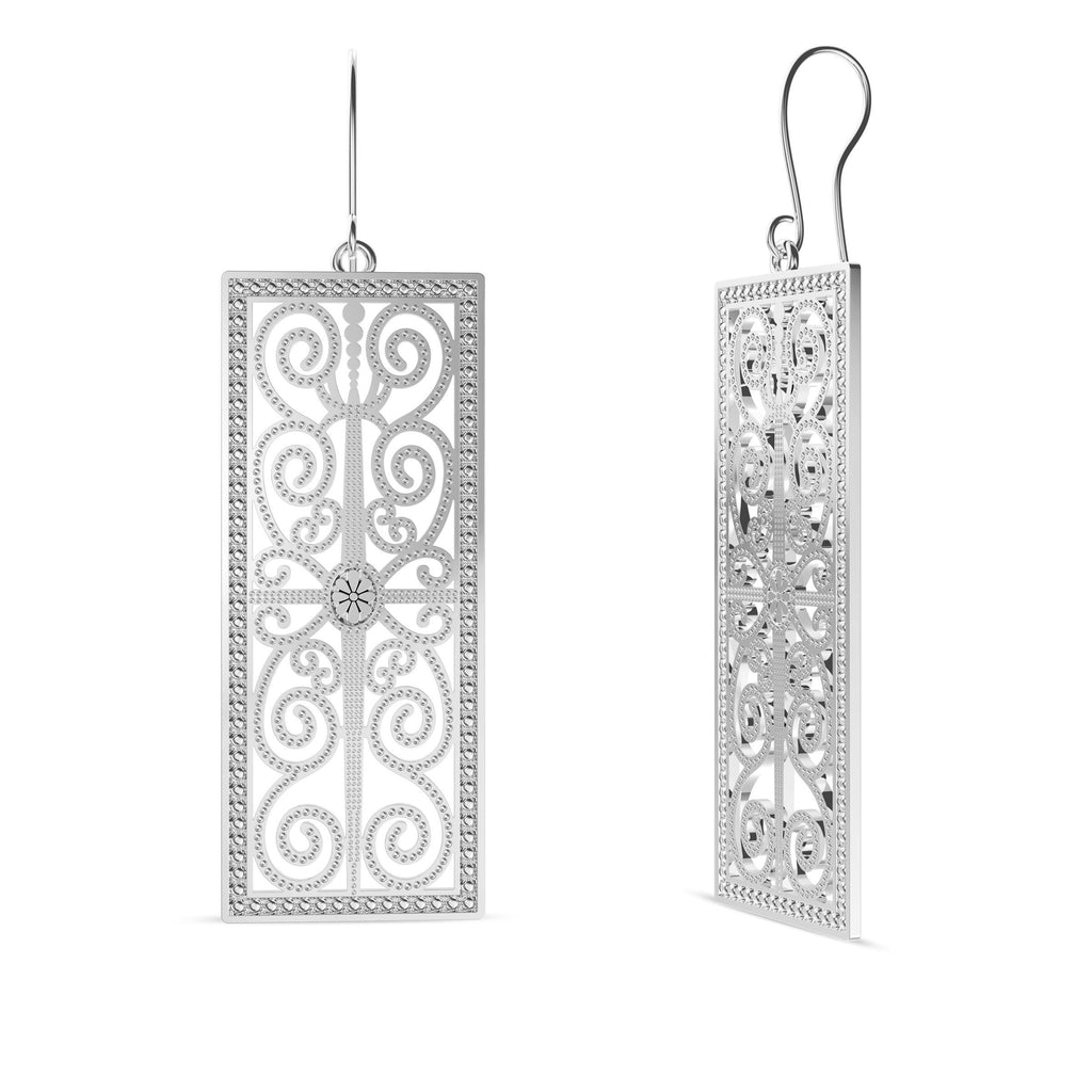 House of Paisley Dangle Earrings