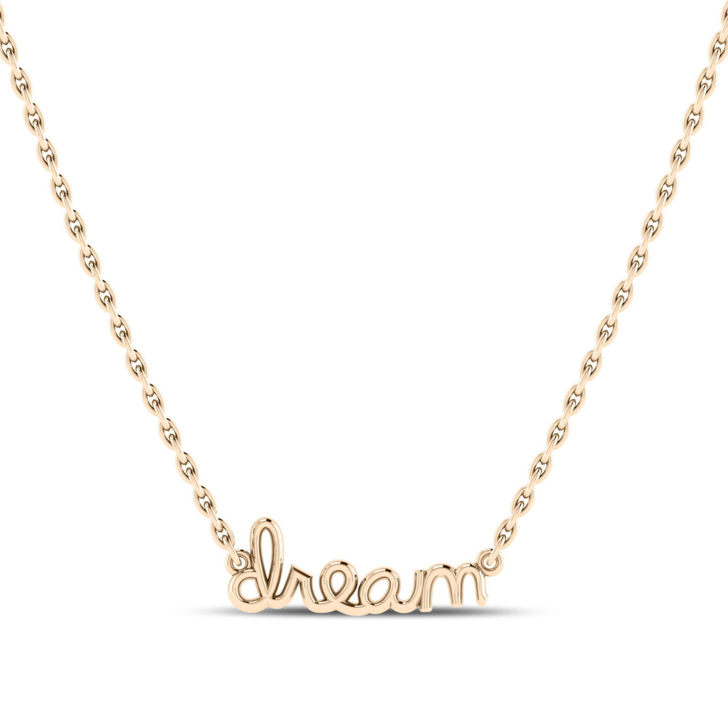 Dream Pendant in 14K Yellow Gold