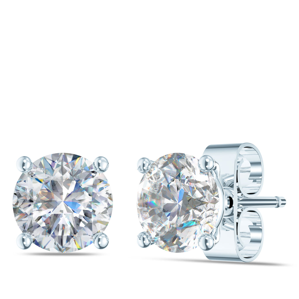 Laboratory Grow Diamond Earring