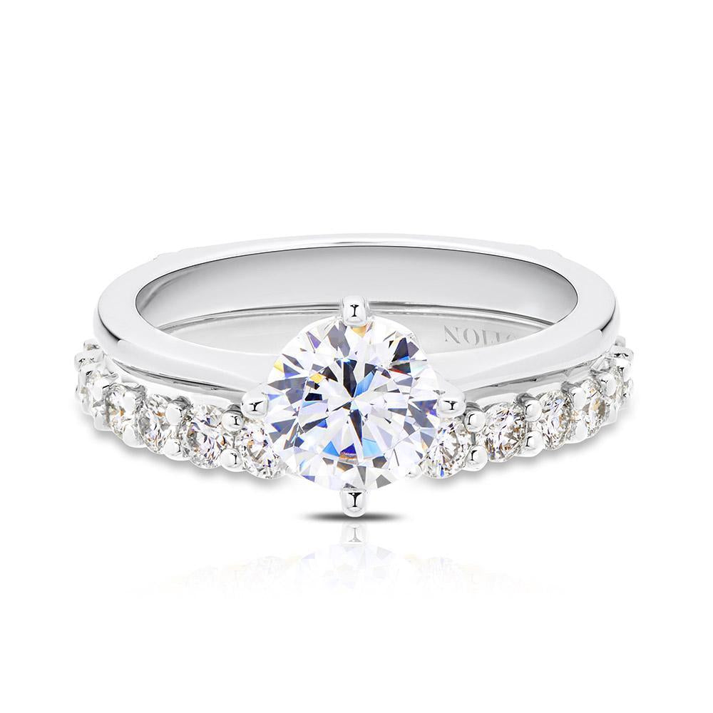 Olivia Diamond Wedding Band