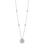 Lys Multi-Station Diamond Pendant Necklace in 14K Gold