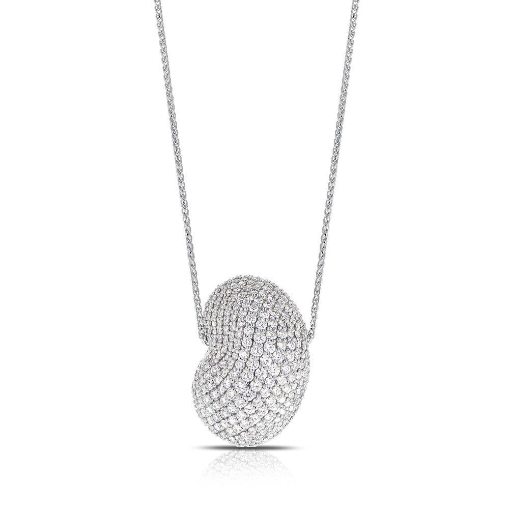 Tendance Diamond Pavé Pendant Necklace in 14K Gold