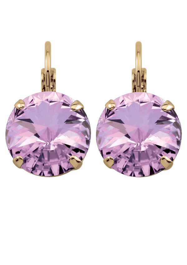 Light Amethyst Rivoli Drops