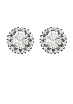 Crystal Rivoli Mini Studs with Strass