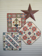 Load image into Gallery viewer, scrappy applique wall hanging quilt patterns