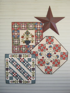 scrappy applique wall hanging quilt patterns