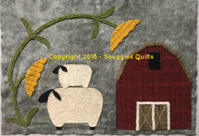 Load image into Gallery viewer, wool applique block of the month pattern for 2018 by Snuggles Quilts