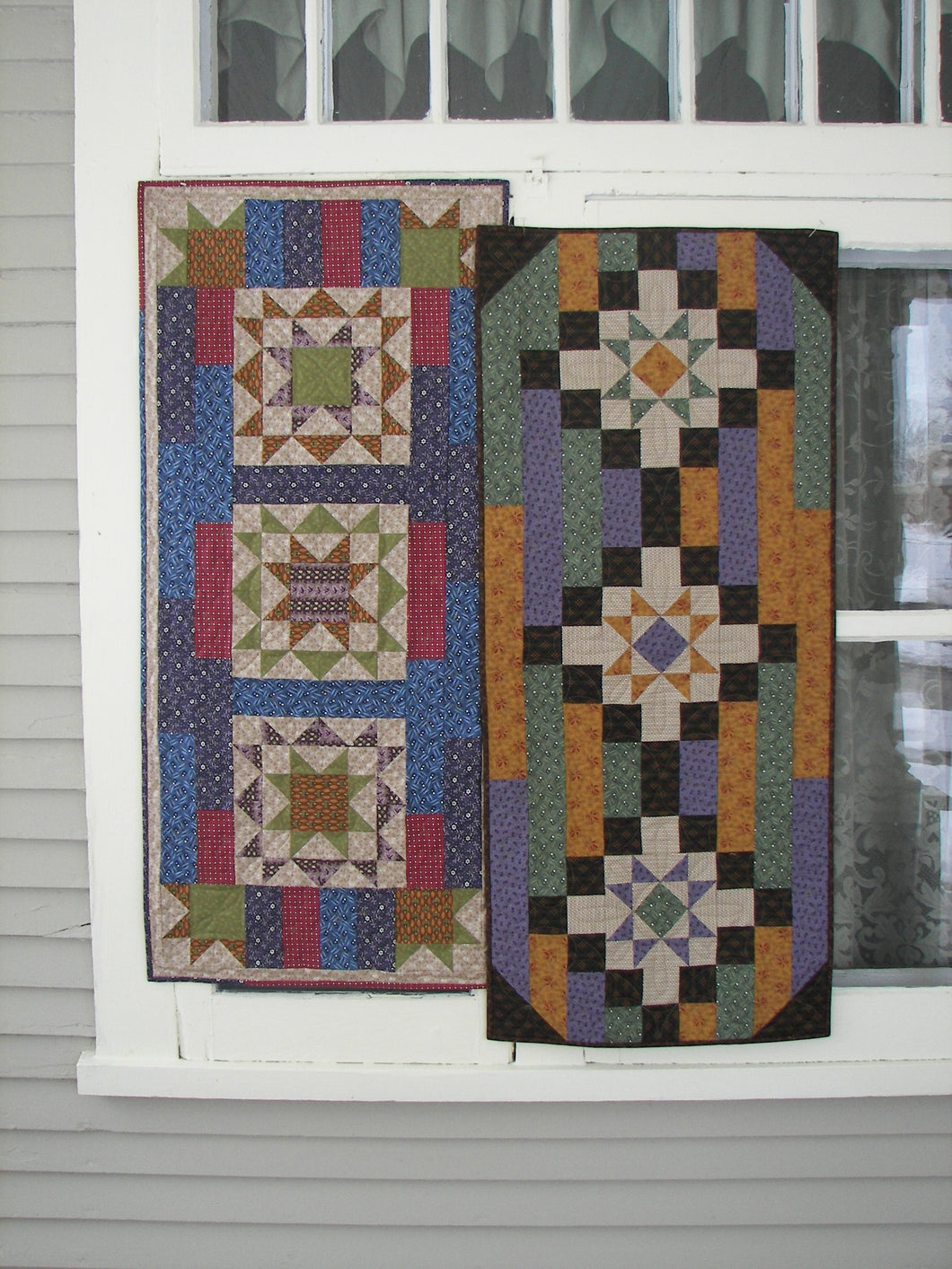 scrappy table runner quilt patterns for beginners