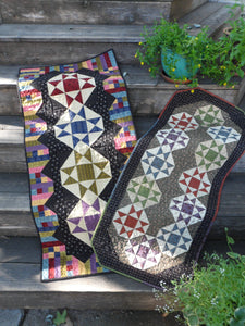 scrappy table runner quilt pattern fat friendly
