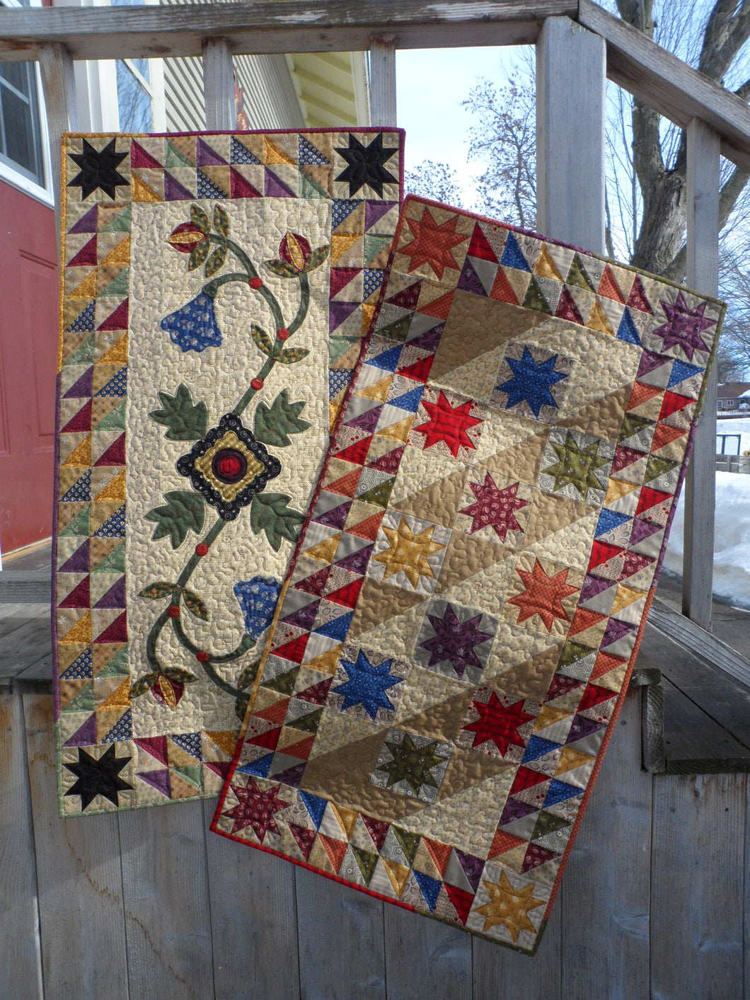 scrappy table runner quilt patterns