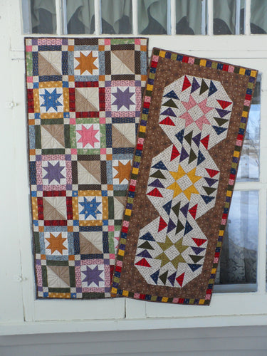 scrappy table runner quilt pattern for beginners