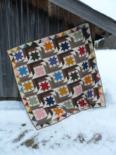 Load image into Gallery viewer, Scrappy lap quilt pattern by Snuggles Quilts