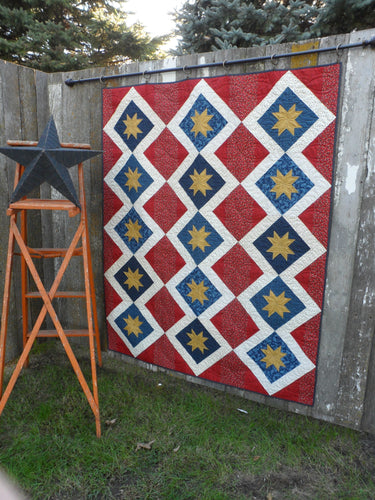 patriotic lap quilt wall hanging pattern