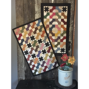 scrappy table runner quilt pattern