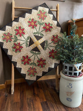 Load image into Gallery viewer, winter Christmas wall hanging table topper applique quilt pattern