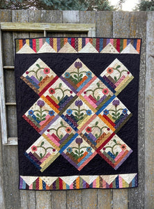 Wildflower Lane Quilt Pattern - PDF