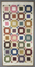 Load image into Gallery viewer, scrappy table runner quilt pattern charm square friendly