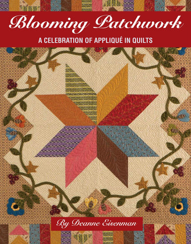 Book of scrap quilt patterns with applique and brief history of applique