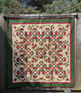 Christmas Dreams Lap Quilt Pattern
