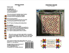 Load image into Gallery viewer, Christmas Dreams Lap Quilt Pattern