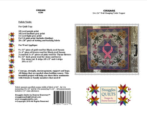 Courage Quilt Pattern - PDF